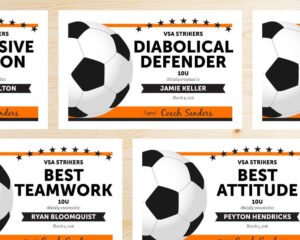 Free Printable Soccer Certificate Templates Editable Award inside Soccer Award Certificate Template