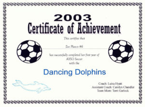 Free Printable Soccer Certificate Templates Editable Kiddo within Soccer Certificate Templates For Word