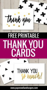 Free Printable Thank You Cards | Freebies | Printable Thank in Free Printable Thank You Card Template