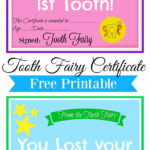 Free Printable Tooth Fairy Certificate | Tooth Fairy Ideas with regard to Free Tooth Fairy Certificate Template