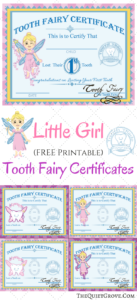 Free Printable Tooth Fairy Certificates | 1St Grade | Tooth for Tooth Fairy Certificate Template Free