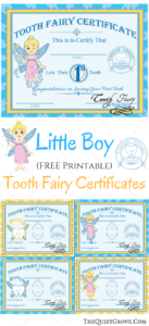 Free Printable Tooth Fairy Certificates | Parenting | Tooth intended for Free Tooth Fairy Certificate Template