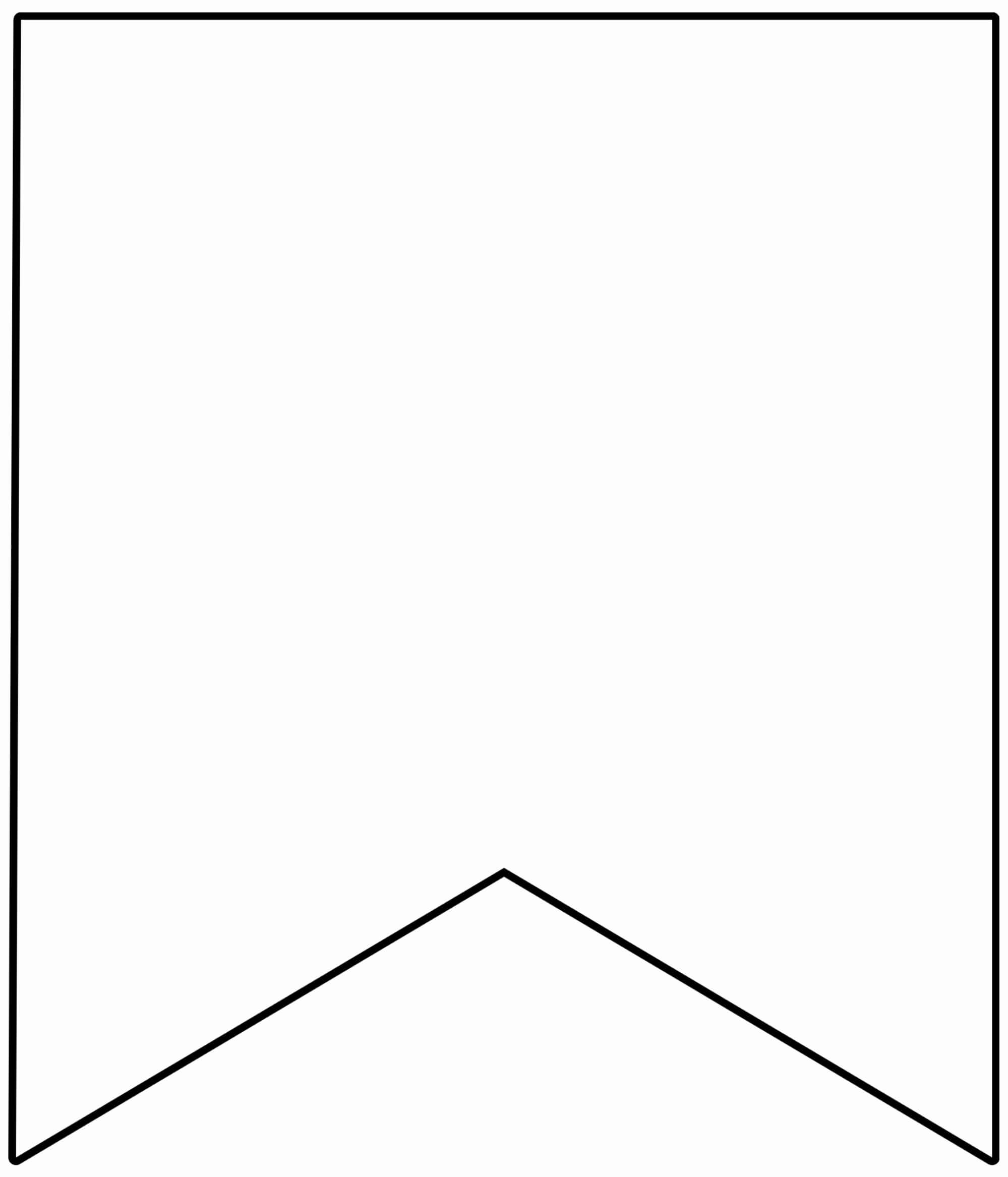 Free Printable Triangle Banner Template Of Free Printable Regarding Triangle Banner Template Free