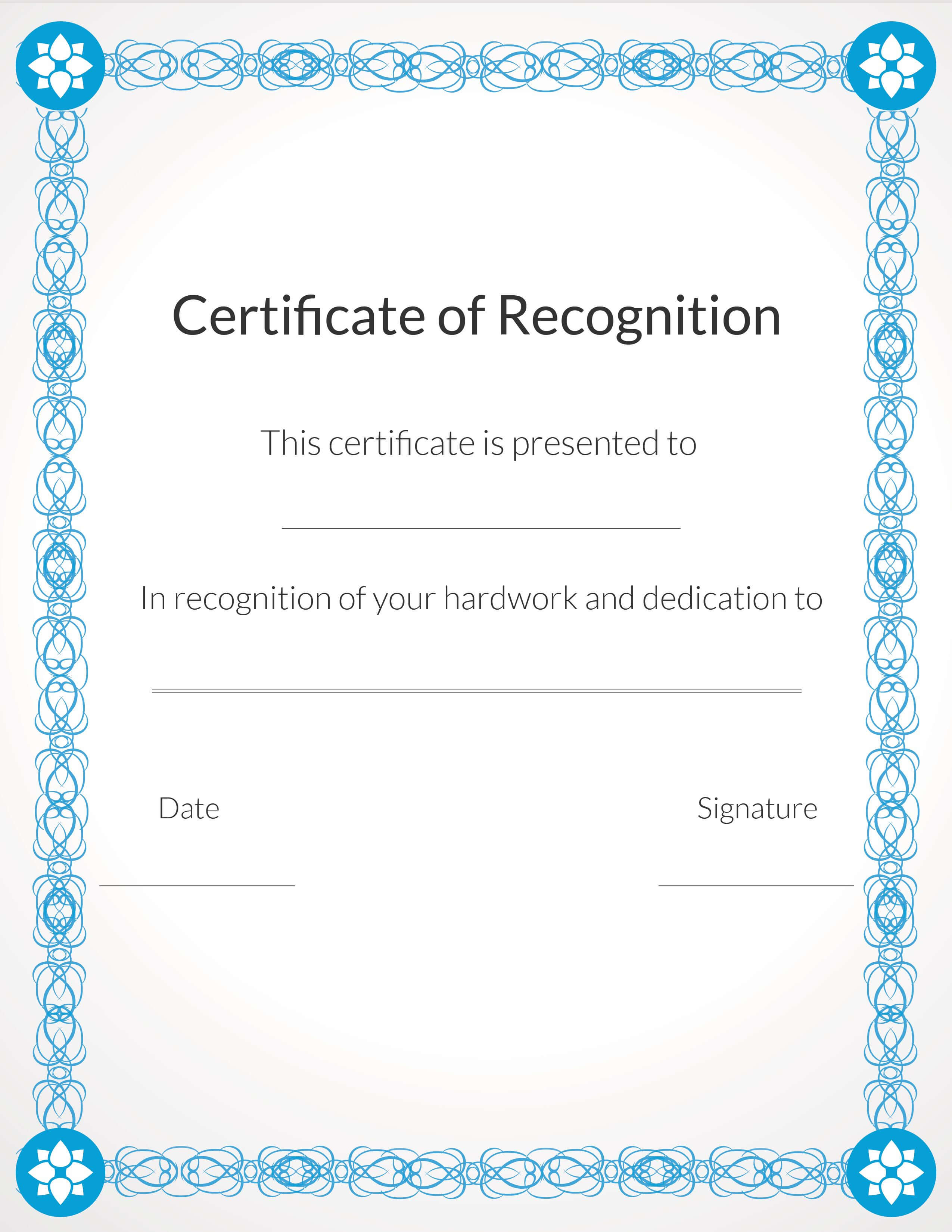 Free, Printable Volunteer Recognition And Appreciation With Regard To Volunteer Certificate Templates