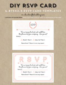 Free Printable Wedding Invitation Template | Wedding throughout Free Printable Wedding Rsvp Card Templates