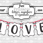 Free Printable Welcome Banner Template | Free Printable Download Regarding Diy Banner Template Free