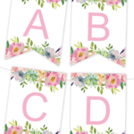 Free Printables | Birthday Banner | Free Printable Banner In Diy Party Banner Template