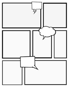 Free Printables Comic Strips To Use For Story Telling (3 throughout Printable Blank Comic Strip Template For Kids