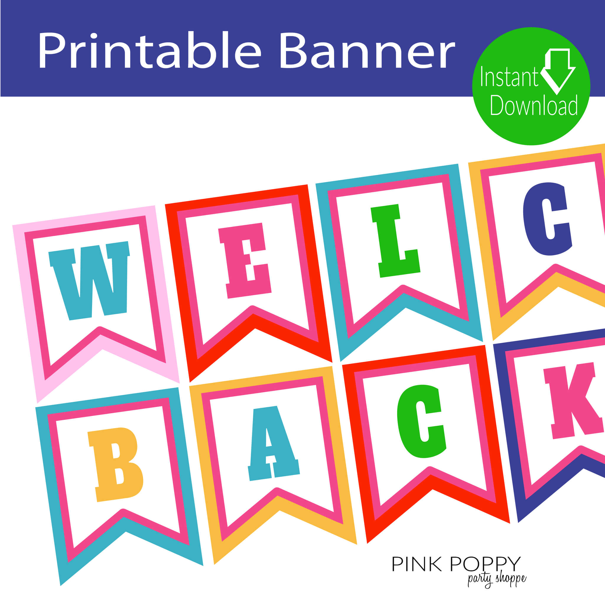 Free Printables} Welcome Back Banner | Children's Ministry Inside Welcome Banner Template