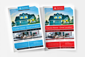 Free Real Estate Templates For Photoshop & Illustrator Intended For Real Estate Brochure Templates Psd Free Download