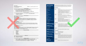 Free Resume Templates For Word: 15 Cv/resume Formats To Download for Resume Templates Word 2013