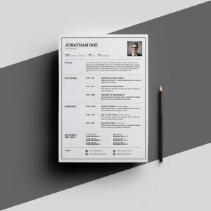 Free Resume Templates For Word: 15 Cv/resume Formats To Download with Free Downloadable Resume Templates For Word
