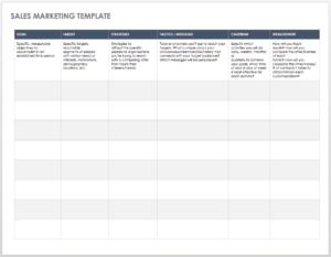 Free Sales Pipeline Templates | Smartsheet in History And Physical Template Word