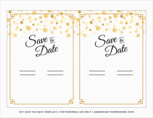 Free Save The Date Party Templates For Word Pleasant 7 Best intended for Save The Date Template Word