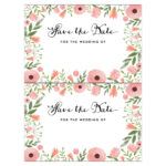 Free Save The Date Templates For Word | Nicegalleries With Save The Date Template Word