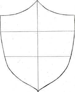 Free Shield Template, Download Free Clip Art, Free Clip Art intended for Blank Shield Template Printable