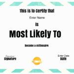 Free Softball Certificate Templates Luxury Valedictorian For Free Softball Certificate Templates