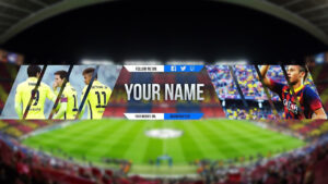 Free Sport Banner Template For Youtube Channel #4 Photoshop I Download  (2017/2018) with regard to Sports Banner Templates