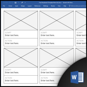 Free Storyboard Templates For Microsoft Word for Hours Of Operation Template Microsoft Word
