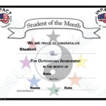 Free Student Certificate Templates Students Award Throughout Free Student Certificate Templates