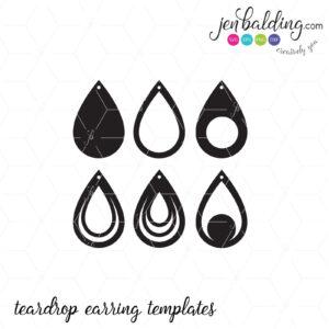 Free Svg Card Templates | Best  | Cricut Leather Earrings for Free Svg Card Templates