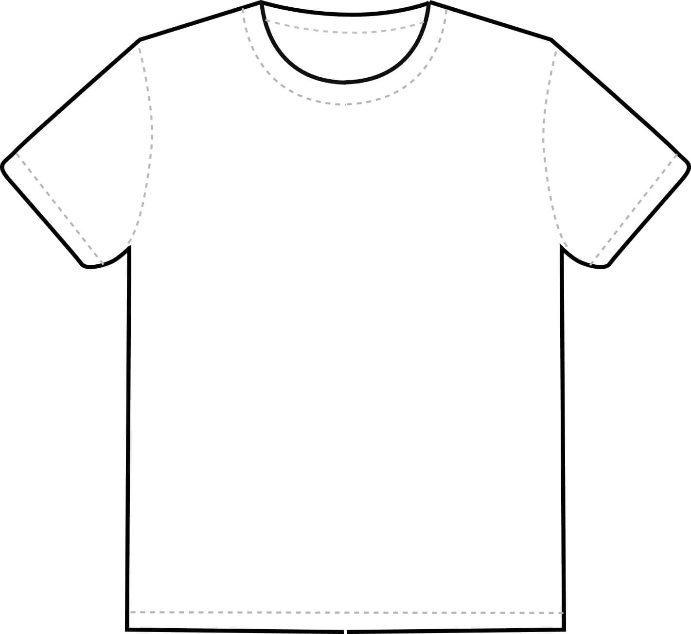 Free T Shirt Outline Template, Download Free Clip Art, Free Pertaining To Blank T Shirt Outline Template