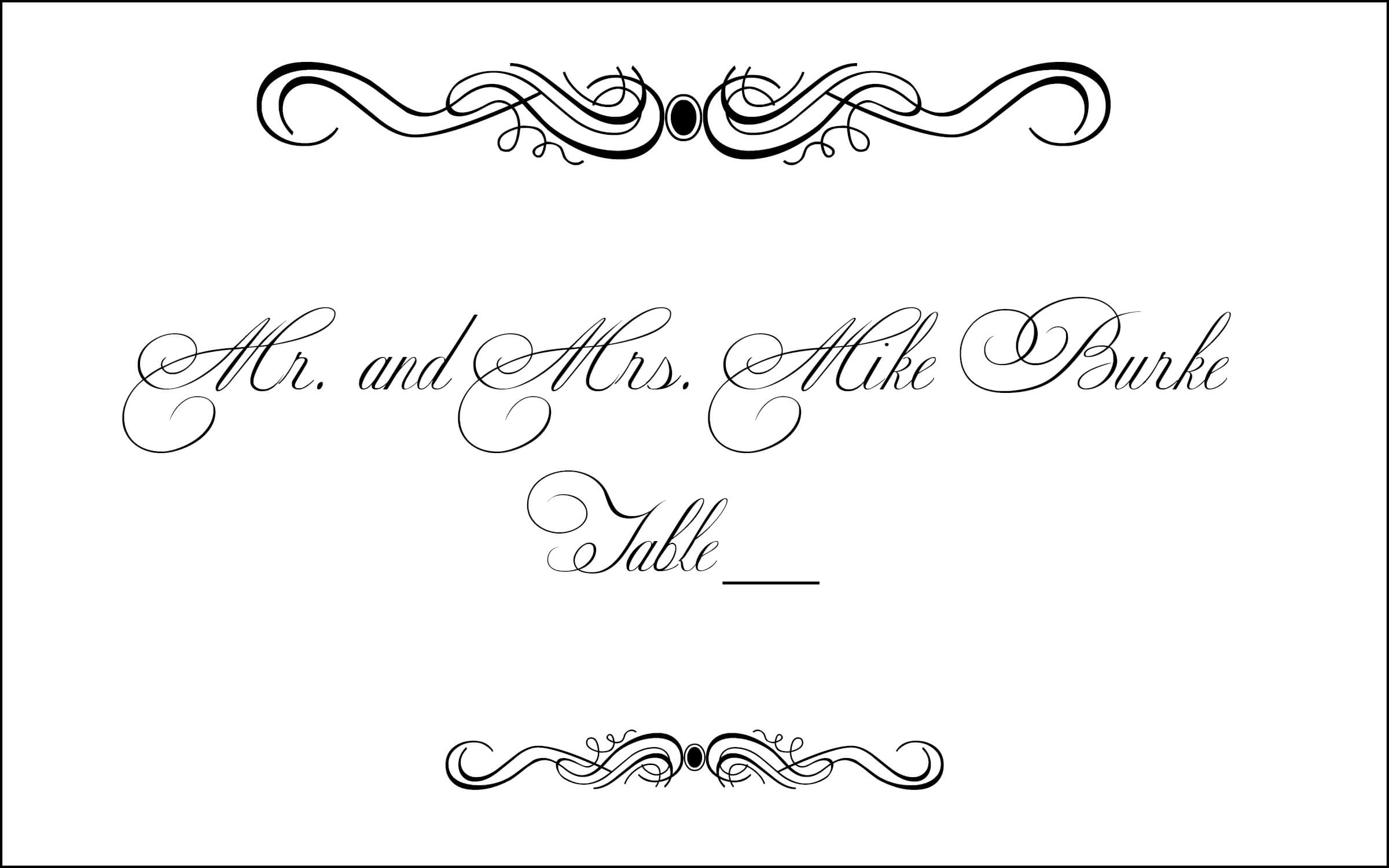 Free Table Card Cliparts, Download Free Clip Art, Free Clip in Table Place Card Template Free Download