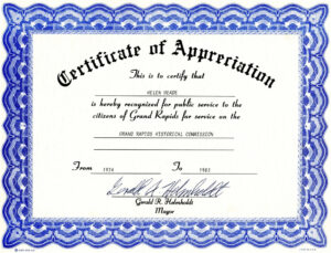 Free Templates For Certificates Of Appreciation | Misc with Farewell Certificate Template