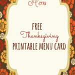 Free Thanksgiving Printables – Frugal Fanatic With Regard To Thanksgiving Place Cards Template