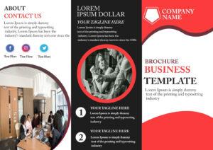 Free Tri-Fold Brochure Template – Download Free Tri-Fold in Free Three Fold Brochure Template