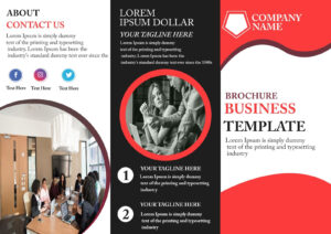 Free Tri-Fold Brochure Template – Download Free Tri-Fold intended for Adobe Tri Fold Brochure Template