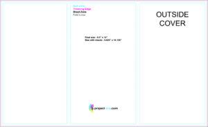 "Free Tri-Fold Brochure Templates Based On 8.5"" X 14"" Paper for 3 Fold Brochure Template Free"