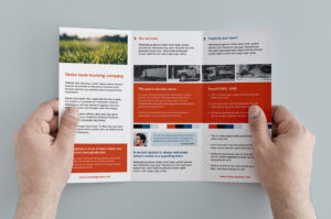 Free Trifold Brochure Template In Psd, Ai & Vector – Brandpacks in Free Tri Fold Business Brochure Templates