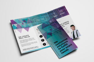 Free Trifold Brochure Template Vol.2 In Psd, Ai & Vector In 2 Fold Brochure Template Free