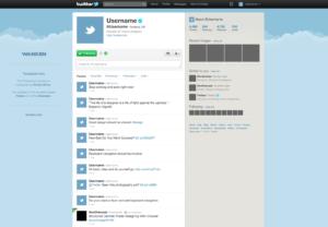 Free Twitter Gui Psd — Smashing Magazine throughout Blank Twitter Profile Template