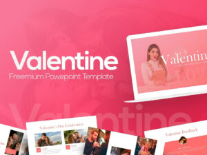 Free Valentine Powerpoint Templaterrgraph On Dribbble throughout Valentine Powerpoint Templates Free