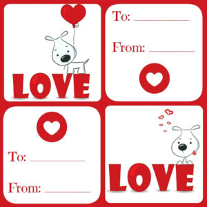 Free Valentines Card Printable For Kids – Daily Dish With in Valentine Card Template For Kids