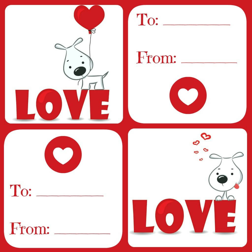 Free Valentines Card Printable For Kids - Daily Dish With In Valentine Card Template For Kids