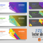 Free Vector Abstract Web Banner Design Templatemri In Product Banner Template