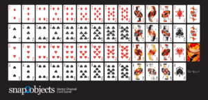 Free Vector Playing Cards Deck – for Free Printable Playing Cards Template