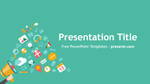 Free Viral Campaign Powerpoint Template - Prezentr for Virus Powerpoint Template Free Download