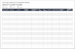 Free Vulnerability Assessment Templates | Smartsheet Within Threat Assessment Report Template