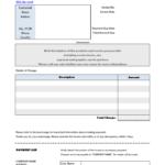 Free Web Design Invoice Template With Regard To Web Design Invoice Template Word