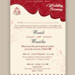 Free Wedding Card Psd Templates | Kankotri Vector Template regarding Indian Wedding Cards Design Templates