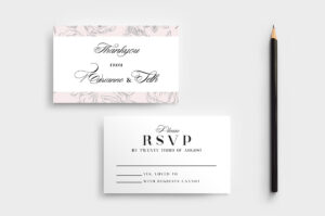 Free Wedding Stationery Templates For Photoshop & Illustrator inside Free Printable Wedding Rsvp Card Templates