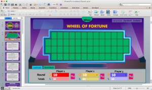 Free Wheel Of Fortune Powerpoint Game Template For Games throughout Wheel Of Fortune Powerpoint Template