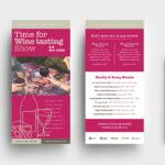 Wine Brochure Template