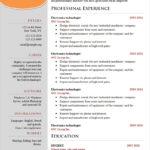 Free Word Resume Templates Microsoft Cv Template 2019 With Simple Resume Template Microsoft Word