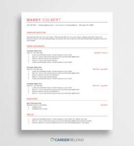 Free Word Resume Templates Microsoft Cv Template within Resume Templates Word 2013