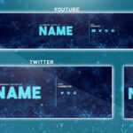 Free Youtube Banner Template | Photoshop (Banner + Logo + Twitter Psd) 2016 Regarding Youtube Banners Template